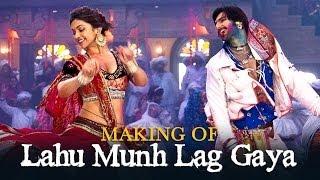 Making of | Lahu Munh Lag Gaya | Goliyon Ki Raasleela Ram-leela | Ranveer Singh & Deepika Padukone