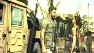 Resident Evil 5 - Cutscenes part 1 - Welcome to Kijuju