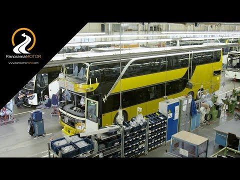 Mercedes Setra EvoBus Cómo se fabrica un Autobús