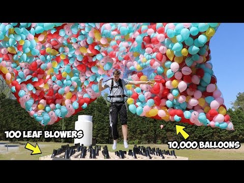Xxx Mp4 I Flew Using Only Balloons AND Leaf Blowers 3gp Sex