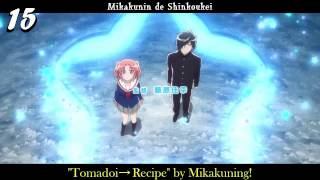My Top 30 Anime Opening Songs - Winter 2014