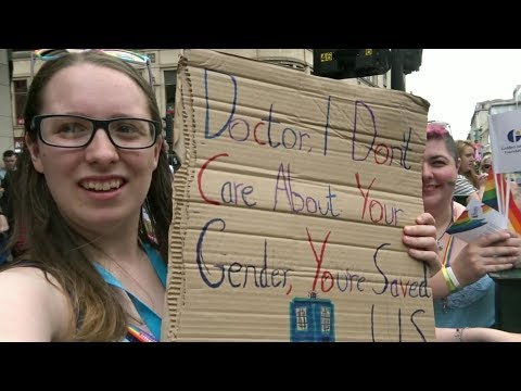 Xxx Mp4 Cosplay Doctor Who At Pride Parade 3gp Sex