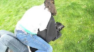 Alexis Williams smackdown on Destynee Boyd  2008 03 22
