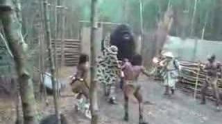 King Kong attacks boy