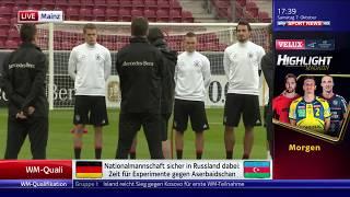 Joachim Löw/die Mannschaft - Abschlusstraining in Mainz (SSN live) 07.10.17