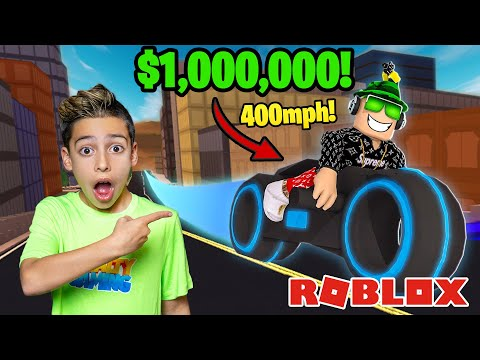 BUYING the FASTEST Car on ROBLOX 1 000 000 Royalty Gaming