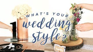DIY WEDDING TABLE: 4 WAYS!
