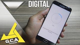 Samsung Galaxy A7  2016 - Como usar o sensor de Impressão Digital (SM-A710M)