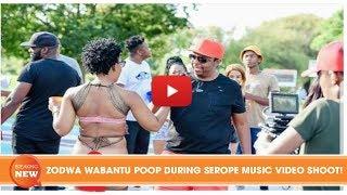 SCANDAL: ZODWA WABANTU POOP DURING SEROPE MUSIC VIDEO SHOOT!