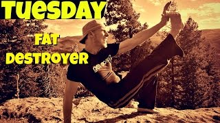Day 2 - 6 Min Wretched Fat Destroying Workout - 7 Day Fat Burning Challenge #7dayfatburningchallenge