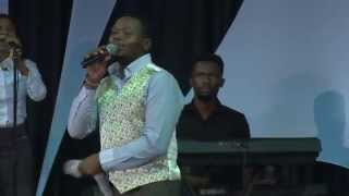 Sechaba Pali perfoming at ECG Church,Pretoria-RSA-Prophet Shepherd Bushiri