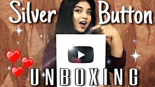 Unboxing YouTube Silver Play Button 😍 Srushti Barlewar 100K Subscribers 🤘🏻 Indian Singer