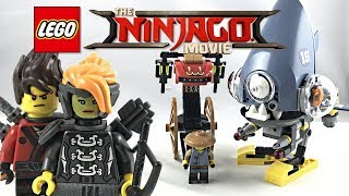 LEGO Ninjago Movie Piranha Chase review! 2017 set 70629!