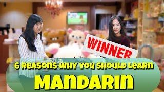 6 Reasons Why You Should Learn Mandarin!