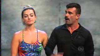 Power Couple: Gian discute com Jorge por ofender sua esposa