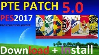 PES 2017 PTE Patch 5.0 |How to Download + install PC | CPY CRACKED +Torrent