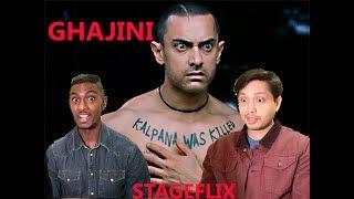 Ghajini Scene Reaction   Aamir Khan