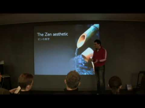 What is Presentation Zen 9 min intro at Apple Store Japan Feb 08