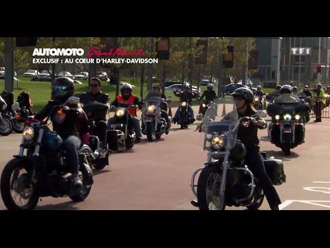 Plongée au coeur d Harley Davidson