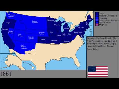 watch The History of the United States of America: Every Year