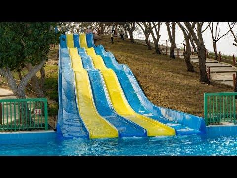 Dreamland Aqua Park - Slide Five | Funny Multi Racer Slide Onride