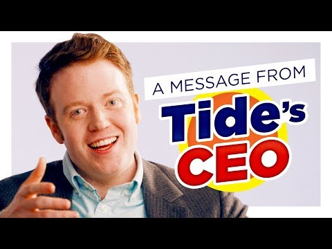 Tide CEO You Gotta Stop Eating Tide Pods CH Shorts