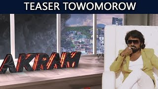 Akram Movie  Teaser  Towomorow  | Latest Telugu Movie