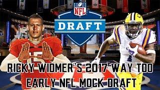 2017 Way-Too-Early NFL Mock Draft