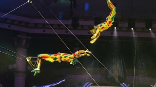Flying Trapeze ''Heroes''-15th Moscow International Circus Festival 2016.