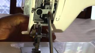 How to Re-Align / Adjust the needle on your sewing machine