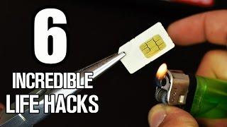 6 Incredible Gadgets and Life hacks