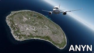 Prepar3D v4 - PMDG 737-700 VOR/DME approch ANYN