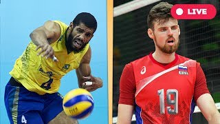 Brazil v Russia - Final Round | 2017 FIVB Volleyball World League