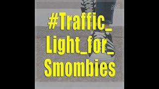 """Are floor traffic lights the answer to the """"smombie"""" problem?"""