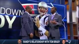 Randy Moss talks about Tom Brady.