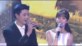 Yook Sung Jae with Kim So Hyun - Love song