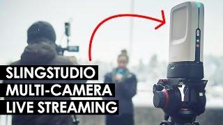 Multi-Camera Live Streaming Setup — Sling Studio Live Switcher, Recorder and Streaming Hub