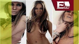 Se filtran fotos de Jennifer López desnuda y sin photoshop/Función con Joanna Vegabiestro