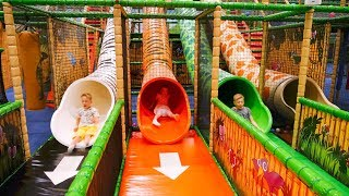 Extra Long Edit: Indoor Playground Fun for Kids at Leo