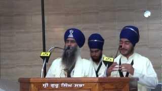 Bhai Mahal Singh Ji At Malton Guru Ghar Part 3