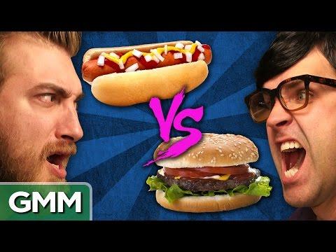 Hot Dogs vs. Hamburgers Debate o Rama