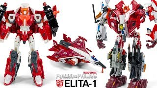 Transformers POWER of the PRIMES Voyager Class Autobots ELITA 1 Combiner Robot Toys