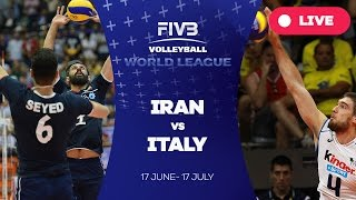 Iran v Italy - Group 1: 2016 FIVB Volleyball World League