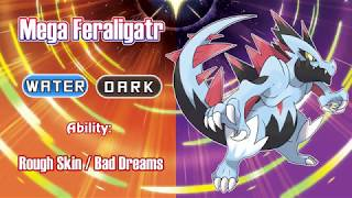 MEGA ALOLAN FERALIGATR REVEALED!