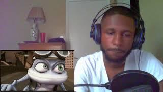 Bobble Head Reacts™ - Crazy Frog Reaction!!!