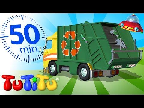 Caminhão de lixo E Outros Brinquedos Incríveis 50 minutos