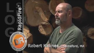 Splitting the Toughest Logs - DR RapidFire Log Splitter