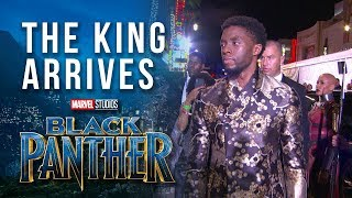 The King Arrives --  Chadwick Boseman at Marvel Studios