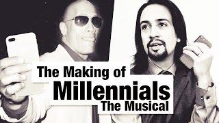 "Lin-Manuel Miranda & Dwayne ""The Rock"" Johnson on The Making of ""Millennials: The Musical"""