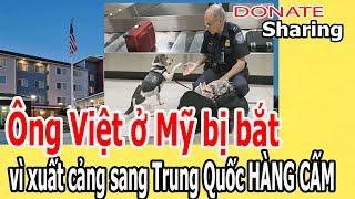 Ô,ng Việt ở M,ỹ b,ị b,ắ,t v,ì x,u,ấ,t c,ả,ng s,a,ng Tr,u,ng Q,u,ố,c H,À,NG C,Ấ,M